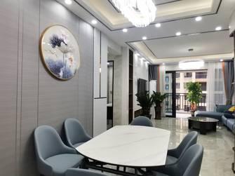 经济型120平米三室两厅现代简约风格餐厅装修效果图