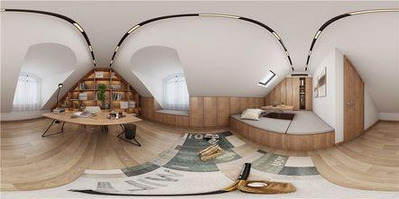豪华型130平米别墅日式风格阁楼装修效果图