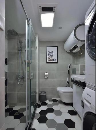 3-5万60平米一室一厅现代简约风格卫生间设计图