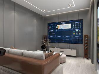 豪华型140平米别墅混搭风格影音室装修图片大全