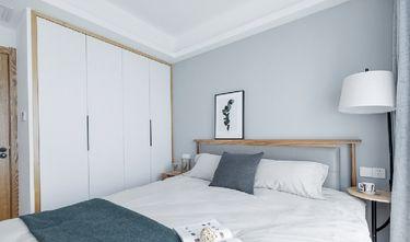 5-10万60平米三日式风格卧室装修效果图