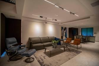 140平米别墅现代简约风格影音室设计图