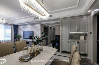 富裕型130平米三室一厅欧式风格餐厅图