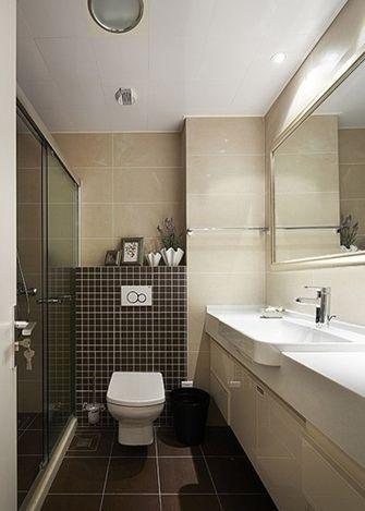 90平米三室两厅美式风格卫生间设计图