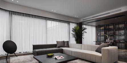 15-20万110平米三室一厅现代简约风格客厅欣赏图