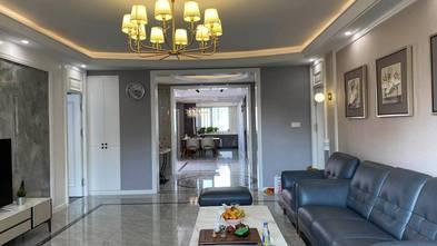 140平米四室四厅轻奢风格客厅欣赏图