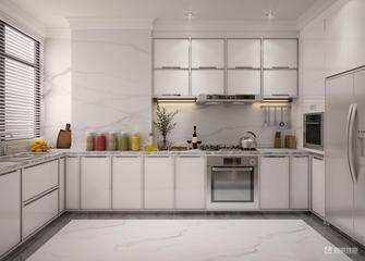 豪华型140平米三室两厅法式风格厨房欣赏图