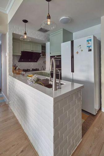 3-5万90平米一室一厅美式风格厨房设计图