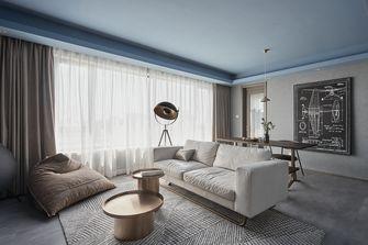 豪华型140平米三室一厅工业风风格客厅图片大全