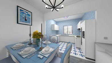 100平米三室一厅地中海风格餐厅欣赏图