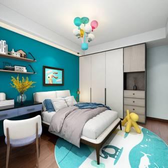 140平米三中式风格青少年房装修案例