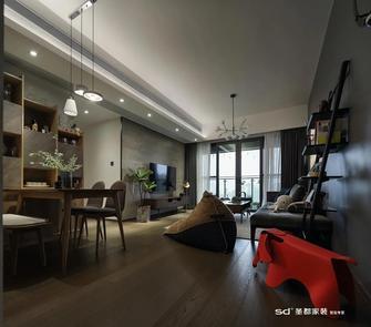 110平米三室两厅工业风风格餐厅装修效果图