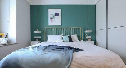 富裕型140平米四室一厅北欧风格卧室图