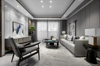 富裕型110平米三中式风格客厅装修图片大全