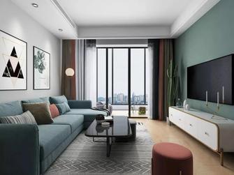 60平米欧式风格客厅装修图片大全