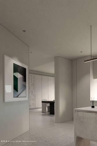 豪华型140平米三室两厅现代简约风格书房图片
