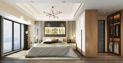 豪华型140平米现代简约风格卧室装修图片大全
