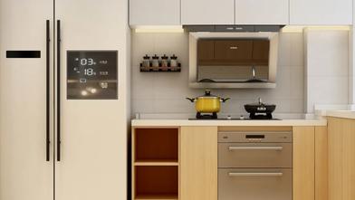 90平米公寓日式风格厨房图片大全
