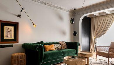 富裕型110平米三室一厅美式风格客厅装修效果图