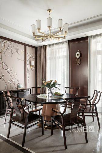 20万以上140平米别墅中式风格餐厅图