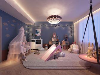 120平米三室两厅混搭风格青少年房效果图