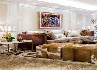 富裕型三室一厅新古典风格客厅效果图