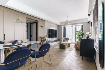 富裕型90平米轻奢风格客厅图