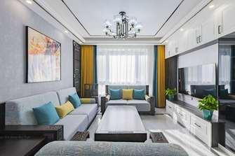 20万以上140平米三室两厅新古典风格客厅效果图