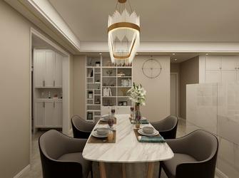 富裕型120平米三室一厅轻奢风格餐厅图