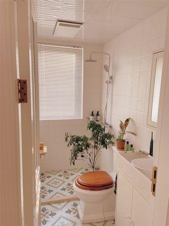 富裕型三室两厅北欧风格卫生间效果图