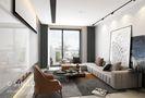 豪华型140平米四室三厅现代简约风格客厅设计图
