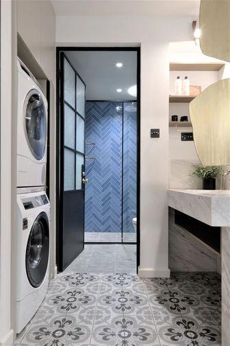 富裕型110平米三室两厅日式风格卫生间装修图片大全
