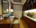 经济型90平米美式风格书房图