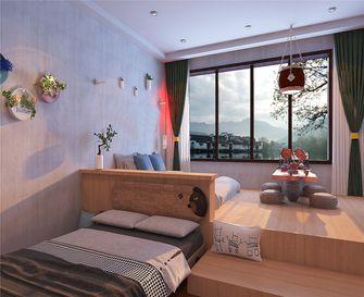 富裕型140平米四田园风格卧室图