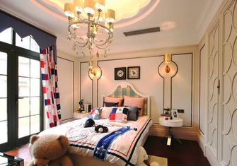 20万以上140平米四室两厅英伦风格卧室图片大全