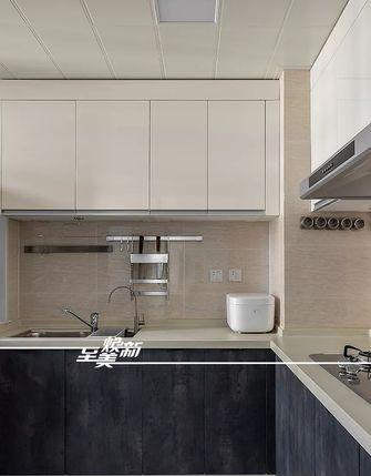 富裕型80平米日式风格厨房设计图