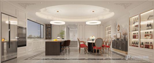 豪华型140平米别墅法式风格餐厅装修效果图
