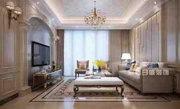 20万以上120平米四欧式风格客厅设计图