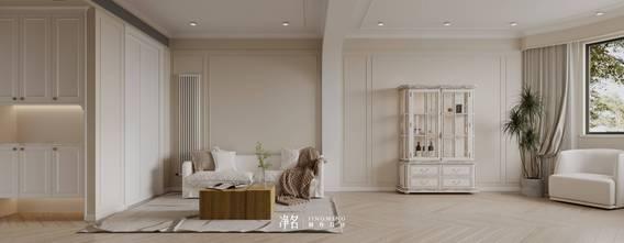 80平米公寓法式风格客厅效果图