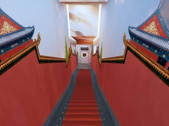 5-10万140平米公装风格走廊图片