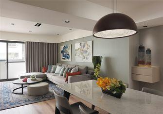 富裕型70平米一室一厅北欧风格客厅设计图