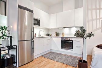130平米三室三厅现代简约风格厨房图片