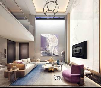 140平米别墅现代简约风格客厅图