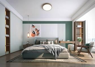140平米田园风格卧室图片