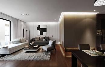 15-20万110平米三室一厅北欧风格客厅欣赏图