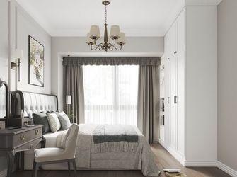20万以上110平米三室两厅美式风格卧室设计图