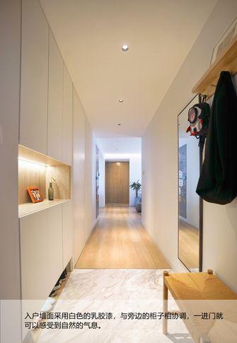 富裕型100平米三室两厅日式风格玄关图