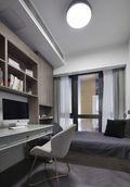 120平米三欧式风格书房装修案例