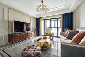 5-10万130平米三室两厅美式风格客厅设计图