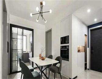 经济型50平米公寓混搭风格餐厅图